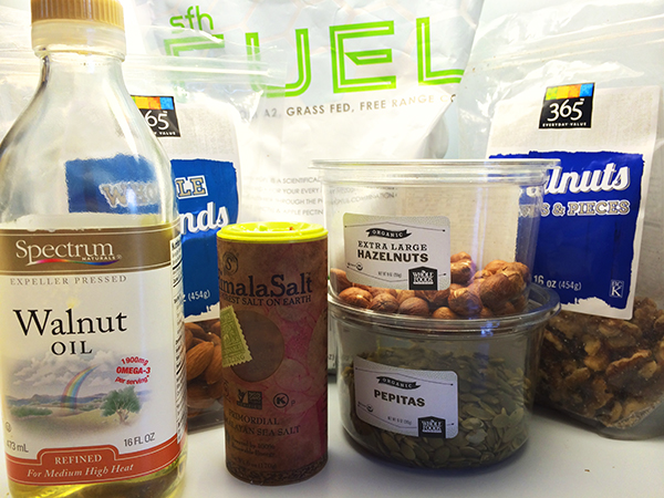 Nut Butter Ingredients