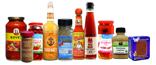 Featured Condiments
