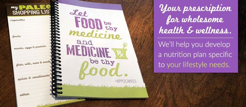 wholesome nutrition, health and wellness prescription - let us help you achieve your health and wellness goals