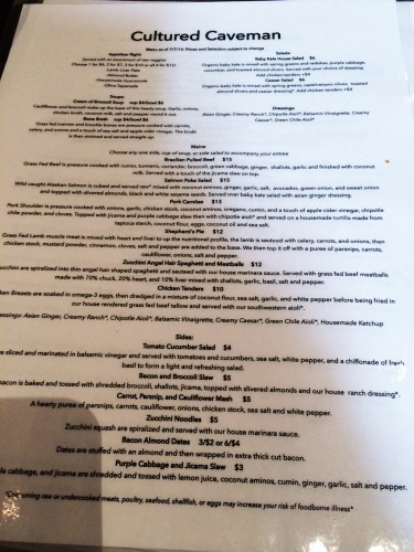 So many available choices on this menu without need for substitutions, do we have to pick?