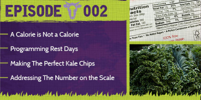 Counting Calories, Rest Days, Making Kale Chips & Body Weight