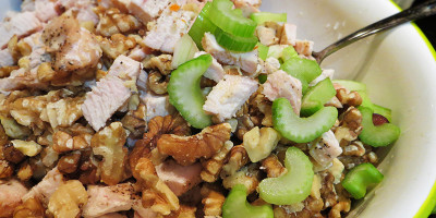 Chicken Salad Recipe UnMixed