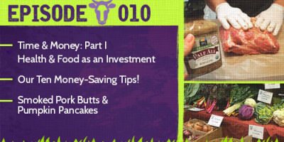 Episode 10 Time and Money Part 1 Keepin' It Real Foods Podcast