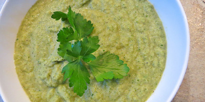 Cream of Broccauli Chowder - Broccoli & Cauliflower Soup by Grassfed Farmacy