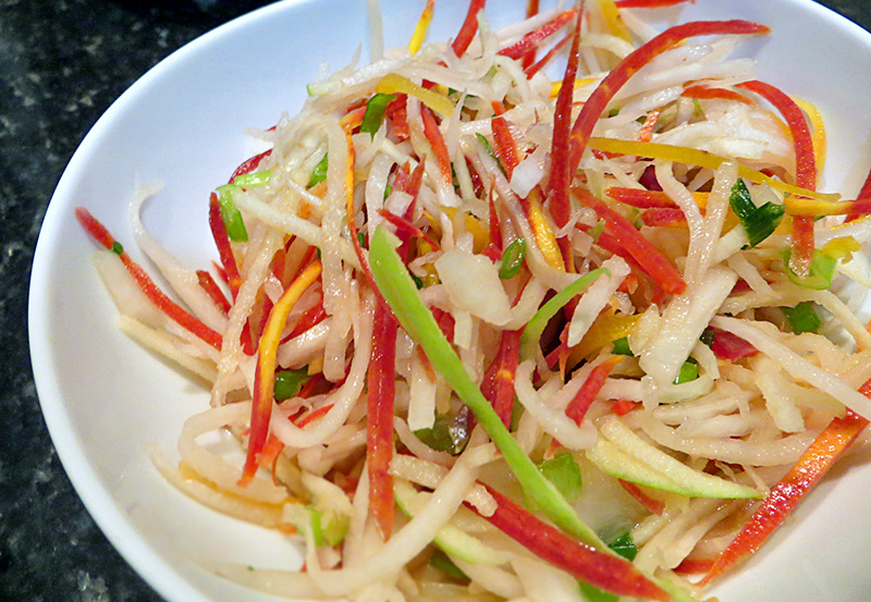 Question asian style coleslaw recipe