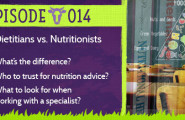 Dietitian vs Nutritionist Episode 14 Podcast @grassfedfarmacy